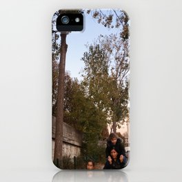 Candid Paris iPhone Case
