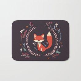 Cute Little Fox Bath Mat