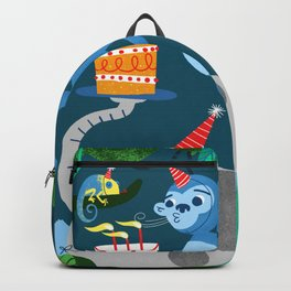 Jungle Monkey Birthday Party Backpack