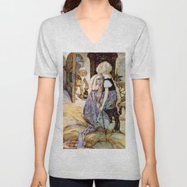 """""""The Millers Daughter"""" by Anne Anderson Unisex V-Neck"""