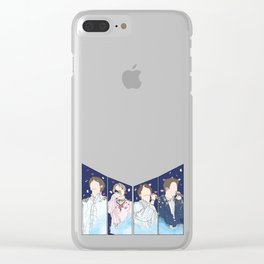 BTS - The Truth Untold Clear iPhone Case