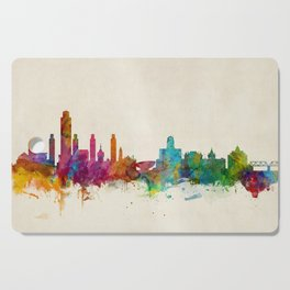 Albany New York Skyline Cutting Board