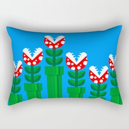Carnivorous Plant Rectangular Pillow