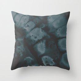 Muted Emerald Throw Pillow