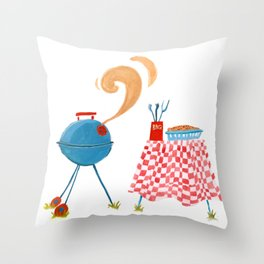Southern Hygge: Barbecue Throw Pillow