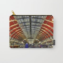 Paddington Railway Station Art Carry-All Pouch