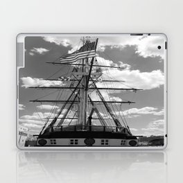 Baltimore Harbor - USS Constellation Laptop & iPad Skin