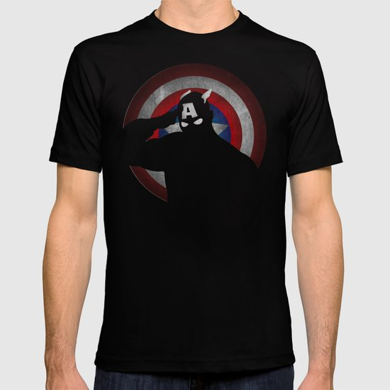 SuperHeroes Shadows : Captain America T-shirt