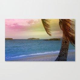 tropical sumer Canvas Print