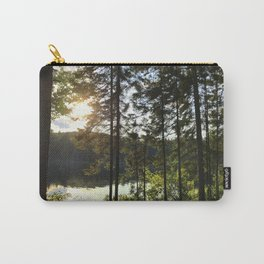Portage through Algonquin Park, Ontario Carry-All Pouch