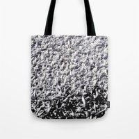 ice Tote Bags featuring Ice by Stevyn Llewellyn