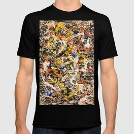 Jackson Pollock--- Convergence T-shirt