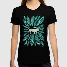Jaguar – Turquoise & Mint Palette T-shirt