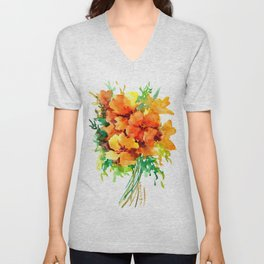 Californian Poippies Unisex V-Neck