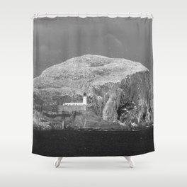 Bass Rock, Scotland Shower Curtain