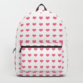 Watercolor Hearts Pattern 1 Backpack