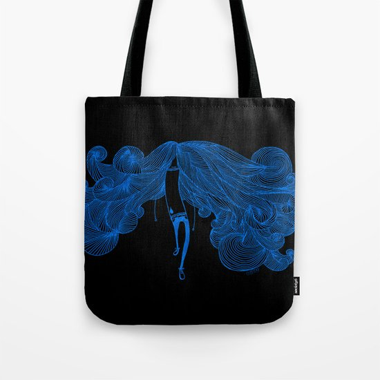 Big Hair Day Tote Bag