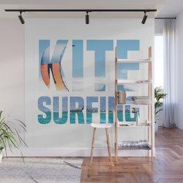 Kitesurfing Kitesurfer Kiteboarder Wall Mural