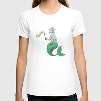 capricorn T-shirts featuring Capricorn by Dan Paul Roberts