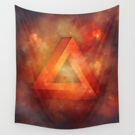 Impossible Triangle Wall Tapestry
