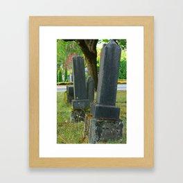mercury candlesticks Framed Art Print