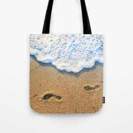 Follow Me To Paradise Tote Bag