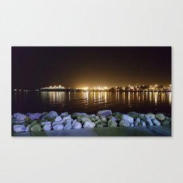 Light over the water Canvas Print