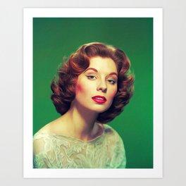 Suzy Parker, Vintage Actress Art Print