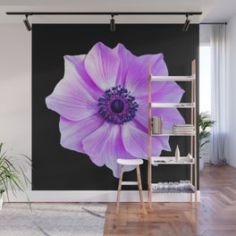 Purple Poppy Wall Mural