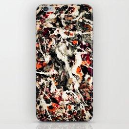 Pollock had a wife. I dunno, did he? iPhone Skin