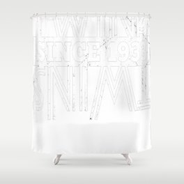 Twins-Since-1933---84th-Birthday-Gifts Shower Curtain