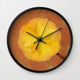 Moses and the burning bush Wall Clock