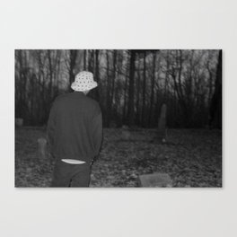 Burial Ground Canvas Print