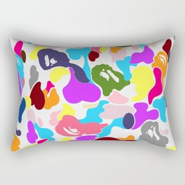 B APE colorful pattern Rectangular Pillow