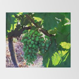 Grapes of Wrath Throw Blanket