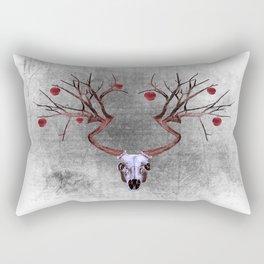 deer tree Rectangular Pillow