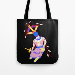 Arizona Apache Devil Dancer - Native American Tote Bag