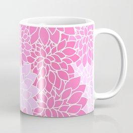 Pink Dahlias / Pink Floral / Pink Flowers Coffee Mug