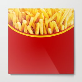 French Potato chips Metal Print