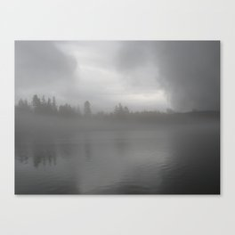 Ominous Fog Canvas Print