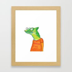 Everything Fine Framed Art Print