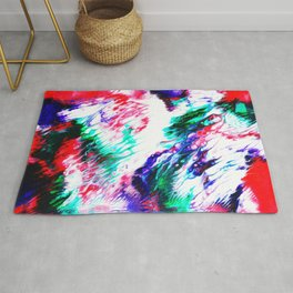 Colorful Fluctuation Rug