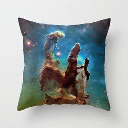 Eagle Nebula's Pillars Throw Pillow
