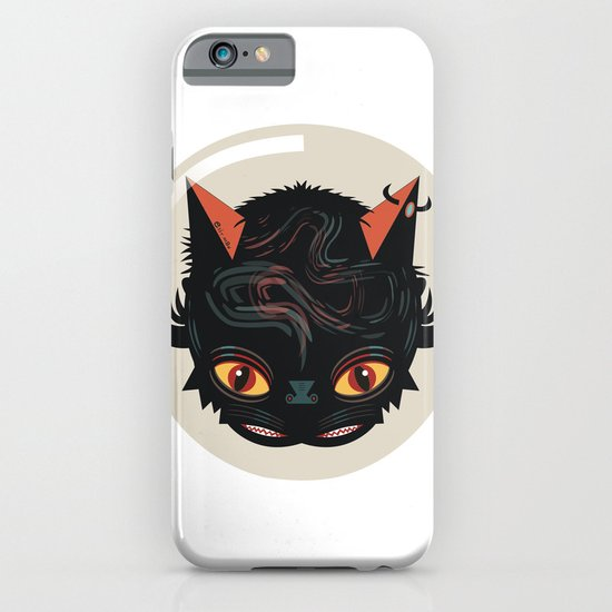 Devil cat iPhone & iPod Case