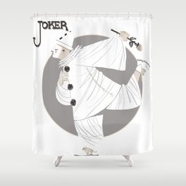 Joker / Pierrot Shower Curtain
