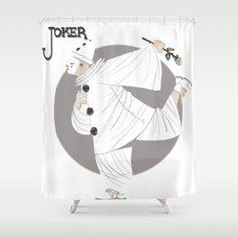 Joker / Pierrot Shower Curtain