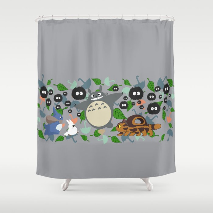 Troll In Motion Shower Curtain