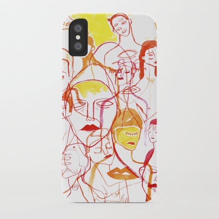 Abrazo iPhone Case
