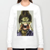 chuck Long Sleeve T-shirts featuring Chuck Predator  by Jack