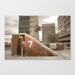 Bam Margera - 7 Bank Canvas Print